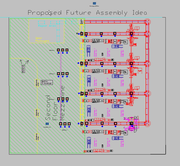 ProModel Proposed Future Assembly Idea Zf_2.mod