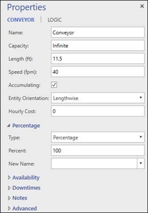 pcs-conveyor-properties